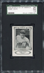 1926 Sports Co. of America Babe Ruth SGC 20 Presents Nicer!!