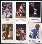 1970s/80s Lot of 6 Different Police Issue Complete Sets Trail Blazers Spurs Sonics Seahawks