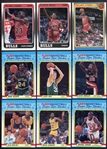 1988-89 Fleer Basketball Complete Set with Stickers Nrmt/Mt