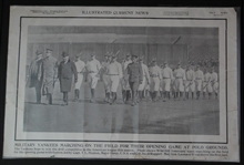 1917 New York Yankees Opening Day Marching on The Polo Grounds News Supplement