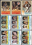1973 Topps Basketball Lot of 52 Different w/Stars