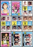 1974 Topps Basketball Lot of 16 Different Stars/HOFers