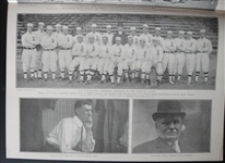 Two Different October 1911 Saturday Evening Mail w/World Series Photos