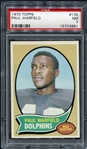 1970 Topps #135 Paul Warfield Miami Dolphins PSA 7