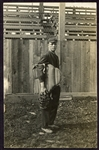 Late Teens/Early 1920s Baseball Umpire RPPC