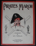 1920s Pirates March Sheet Music
