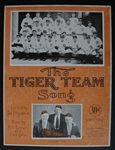 The Tiger Team Song Sheet Music 1934