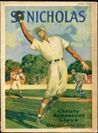 1930 St. Nicholas Magazine Christy Mathewsons Glove issue