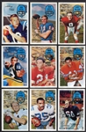 1970 Kelloggs 3-D Football Lot of 10 Different Many HOFers