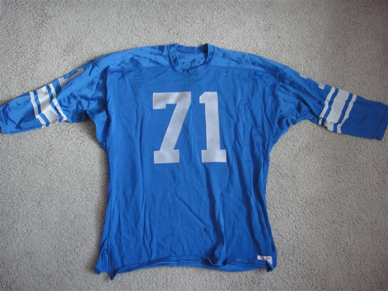 Alex Karras Game Used Jersey