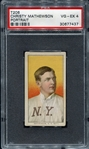 T206 Christy Mathewson Portrait PSA 4