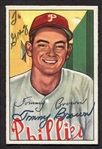 1952 Bowman #236 Tommy Brown Autographed