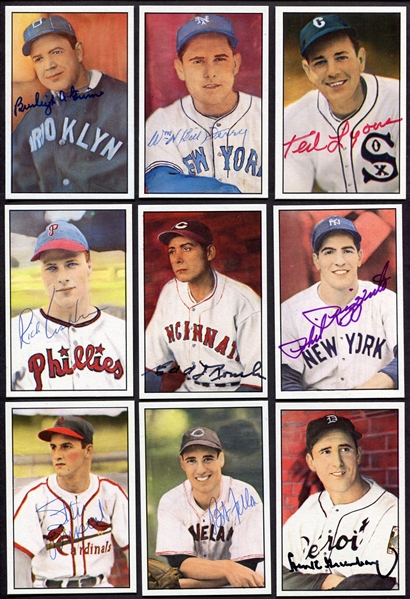 1982 Diamond Classics Complete Series 1 55 Card Set w/28 Autographed