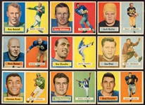1957 Topps Football Lot of 24 Different