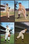 1953-55 Dormand Postcards Lot of 4 New York Yankees