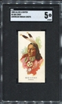 N2 1888 Allen & Ginters American Indian Chiefs Big Chief SGC 5