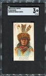 N2 1888 Allen & Ginters American Indian Chiefs Big Razor SGC 3