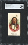 N2 1888 Allen & Ginters American Indian Chiefs Black Hawk SGC 3