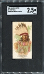N2 1888 Allen & Ginters American Indian Chiefs Chief Gall SGC 2.5