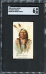 N2 1888 Allen & Ginters American Indian Chiefs Crows Breast SGC 6