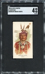 N2 1888 Allen & Ginters American Indian Chiefs Deer Ham SGC 4