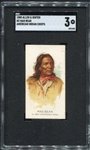 N2 1888 Allen & Ginters American Indian Chiefs Mad Bear SGC 3