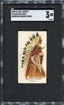 N2 1888 Allen & Ginters American Indian Chiefs Man and Chief SGC 3