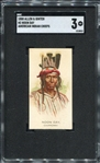 N2 1888 Allen & Ginters American Indian Chiefs Noon Day SGC 3