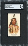 N2 1888 Allen & Ginters American Indian Chiefs Red Cloud SGC 3