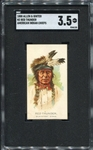 N2 1888 Allen & Ginters American Indian Chiefs Red Thunder SGC 3.5