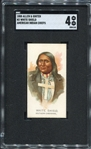 N2 1888 Allen & Ginters American Indian Chiefs White Shield SGC 4