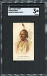 N2 1888 Allen & Ginters American Indian Chiefs White Swan SGC 3