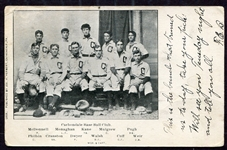 Early 1900s Carbondale PA Baseball Club RPPC