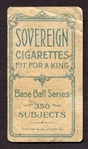 T206 Newly Discovered Blue Sovereign Back SGC AUTH