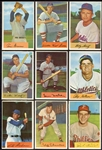 1954 Bowman Lot of 25 Different Most Exmt+/-