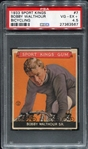 1933 Sports Kings #7 Bobby Walthour Bicycling PSA 4.5