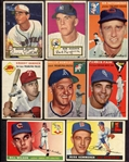 1952-56 Topps Lot of 14 Different