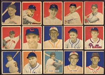 1949 & 1950 Bowman Lot of 23 Different
