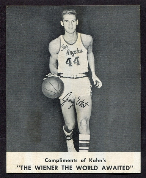 1961-62 Kahn's Jerry West